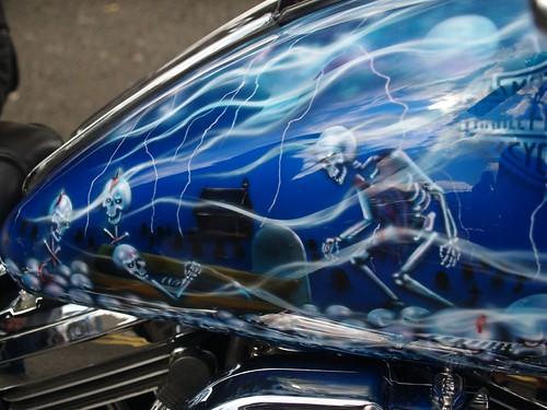 Harley Davidson Fuel Tank Art