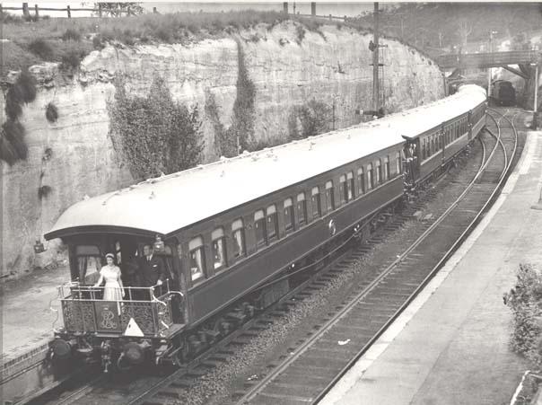 Royal Visit 1954 - Mount Victoria