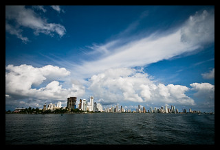 Cartagena bay