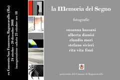 La memoria del segno (Bagnacavallo, 24 ottobre / 20 dicembre 2008)