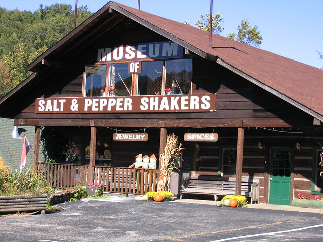 World's Only Salt & Pepper Shaker Museum in Gatlinburg Tennessee