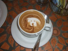 cappuccino dog (coffee) CIMG0108