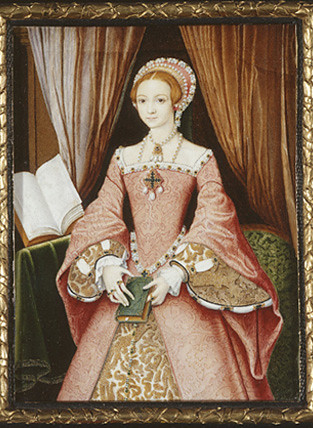 Elizabeth as a young girl