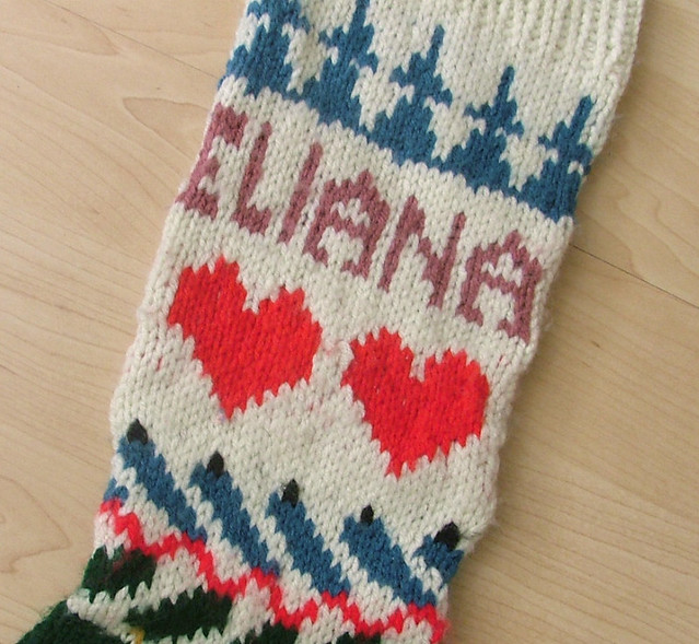 Knit Christmas Stocking Pattern With Name : 3016205686_d2f103030a_z.jpg?zz=1