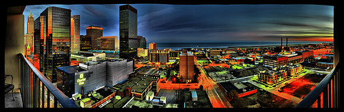 urban panorama lake color water canon landscape photo dynamic cleveland efs1855mm panoramic shore erie hdr cs4 ptgui 3xp tonemap 450d reblxsi