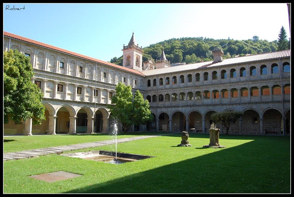 Nogueira de Ramuín - Mosteiro de San Estevo de Ribas de Sil