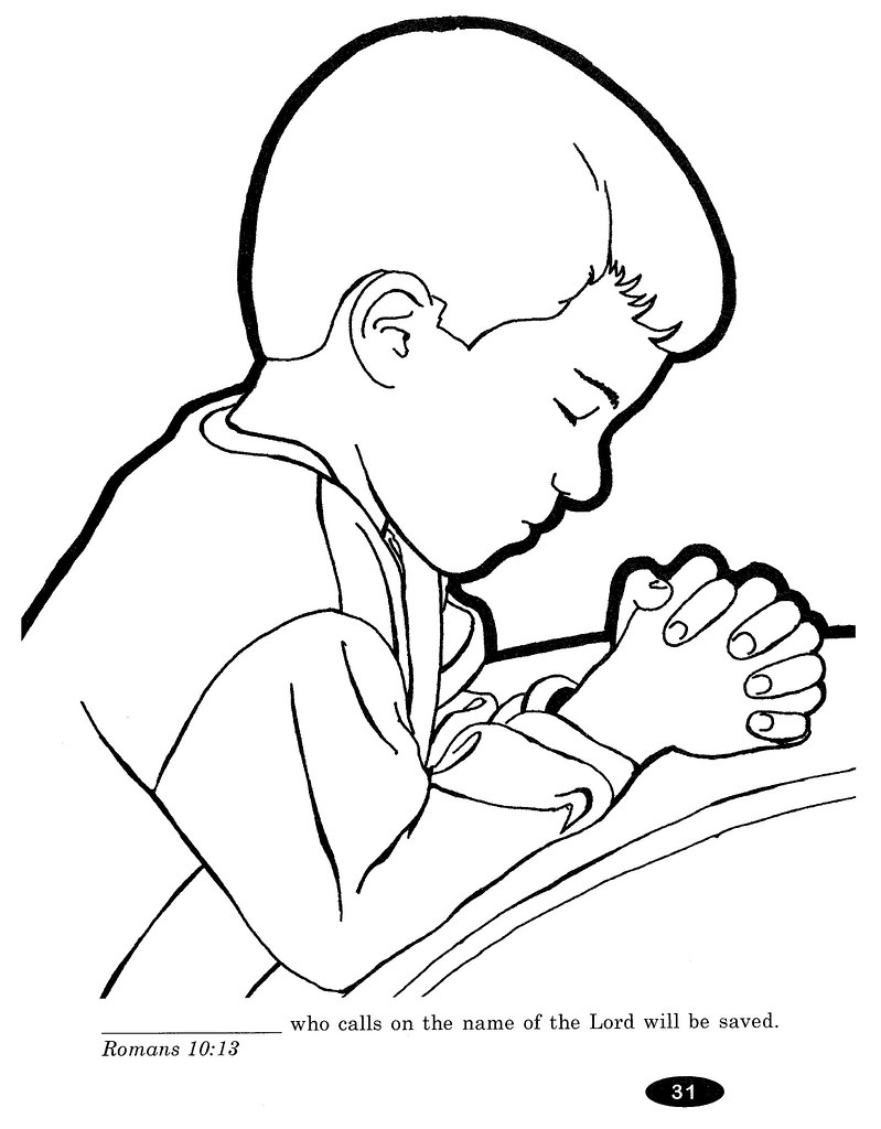 Praying Hands Coloring Page Coloring Pages