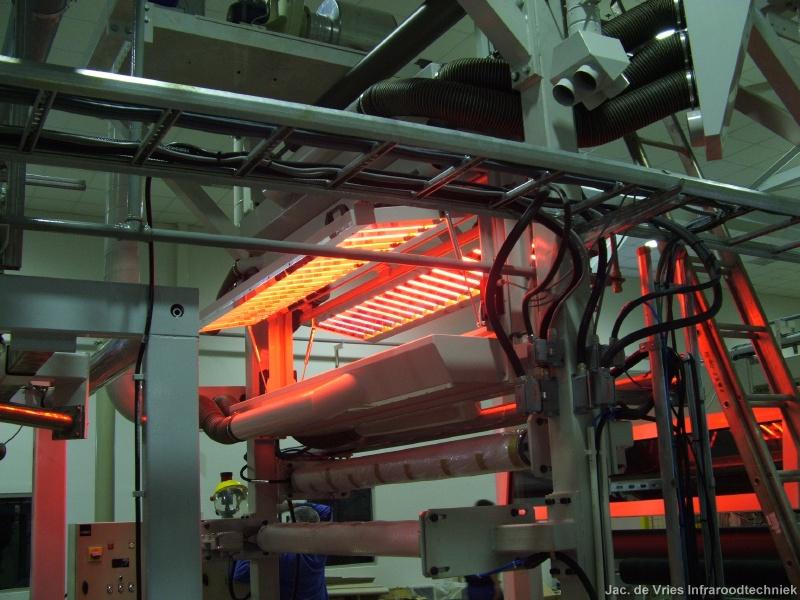 Infrared radiation panels