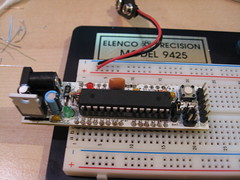 breadboard, personal computer hardware, circuit component, microcontroller, electronics,