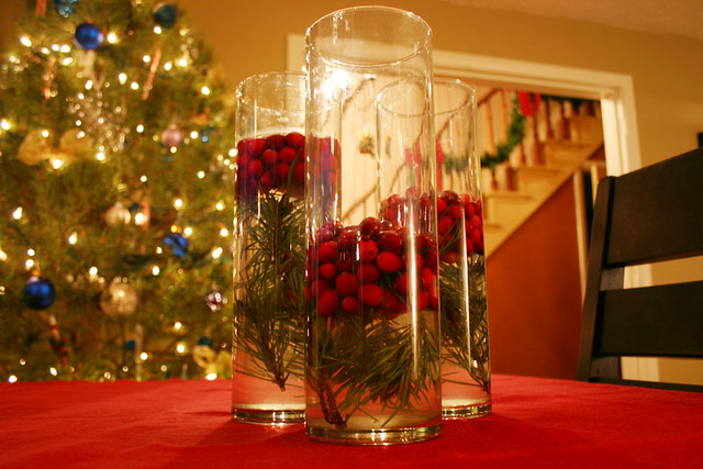Holiday centerpieces a gallery on flickr