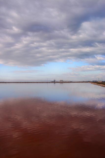 Quando il grigio nuvola s'unisce al rosso  sale