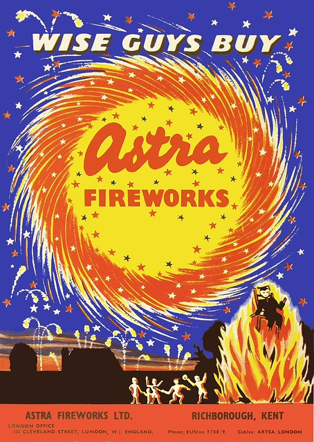 Classic Astra Fireworks Poster | Epic Fireworks Blog