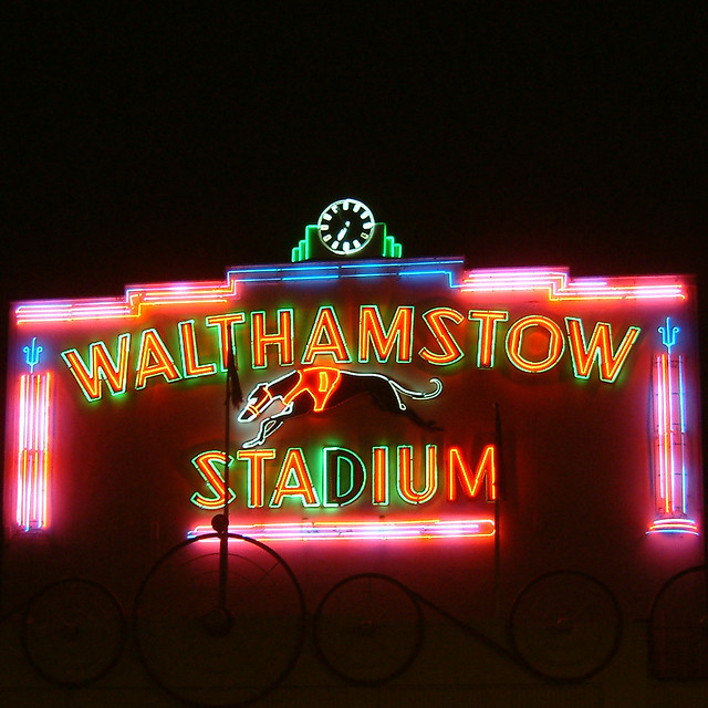 Shea Stadium Neon Lights: Flickr - Photo Sharing