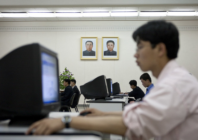 North Korea cyber attack on white house US