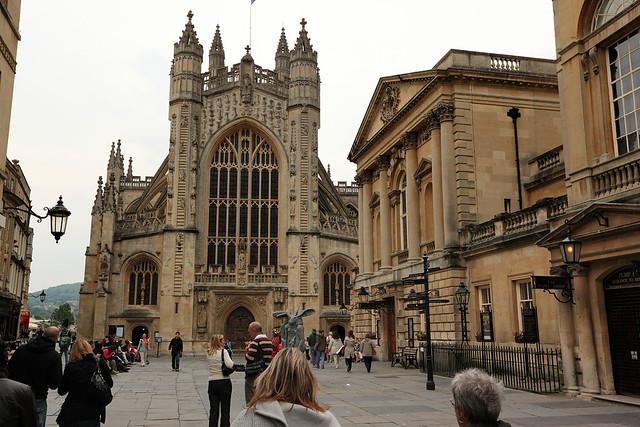 Bath Abbey and Baths