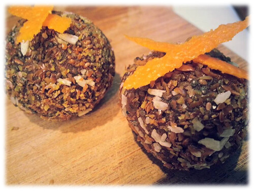 Chocolate Silk Orange Balls