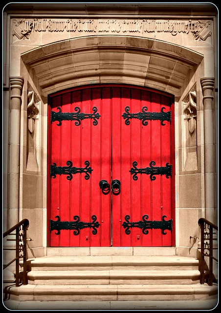 Church Door in Riverside from Flickr via Wylio