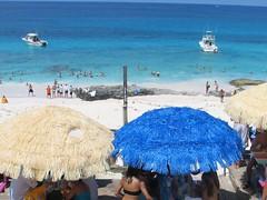 Tiki Huts at Nippers in Abaco Islands, Bahamas