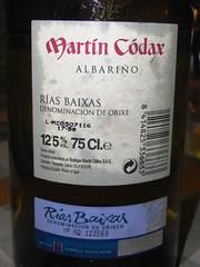 Albariño Martín Codax