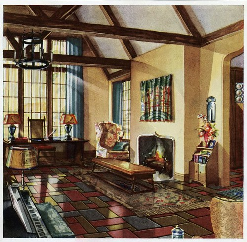1930 living room flickr photo sharing for 1930s interior design living room