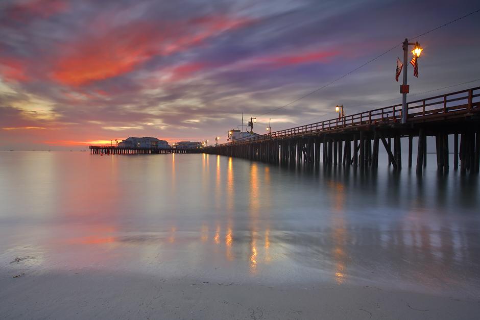 longexposure travel sea wallpaper vacation seascape beach santabarbara sunrise pier sand seascapes canon5d santabarbarapier 1740l stearnswharf