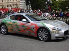 automobile(1.0), automotive exterior(1.0), wheel(1.0), vehicle(1.0), performance car(1.0), automotive design(1.0), rim(1.0), maserati granturismo(1.0), bumper(1.0), land vehicle(1.0), luxury vehicle(1.0), supercar(1.0), sports car(1.0),