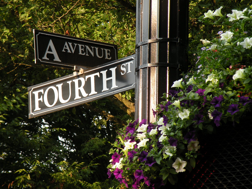 A Avenue and Fourth St