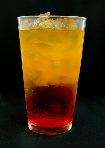 Red Death Mixed Drink Cocktail