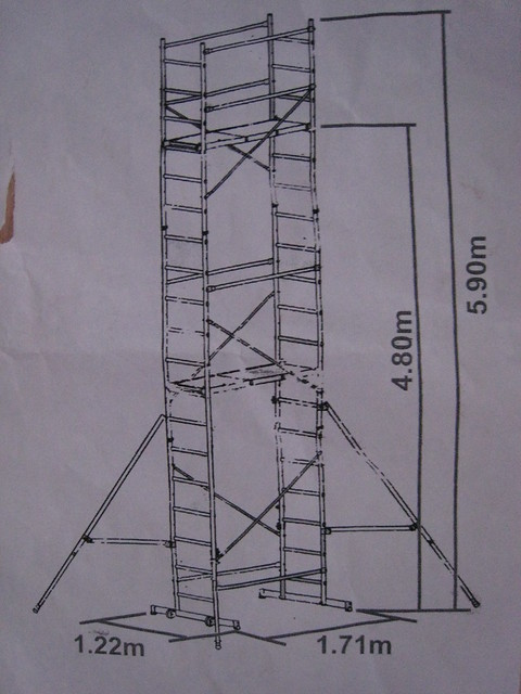 Perry Scaffolding On Stairs : Diagrams of scaffolding pictures to pin on pinterest