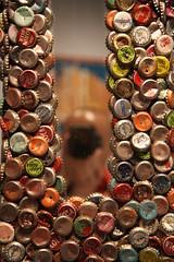 Bottlecap Folk Art Reflection