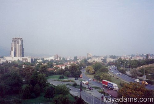 Skopje, Macedonia Skyline | Our visit to Macedonia was ...
