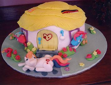 Pony Birthday Cake on My Little Pony Birthday Cake A Photo On ...