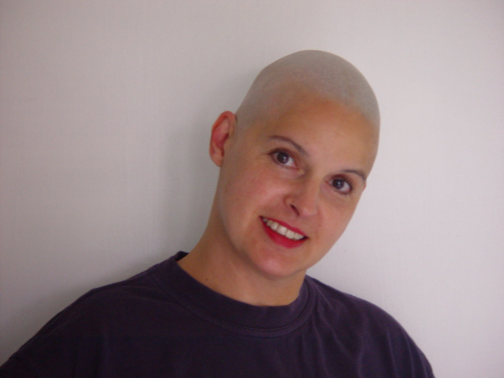 Are absolutely girls head shaved smooth nice message