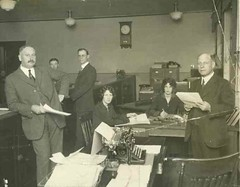 Office Staff Circa 1920s