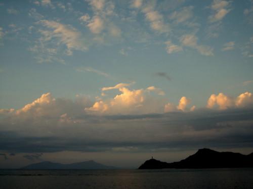 sunset sea bay timor easttimor dili timorleste