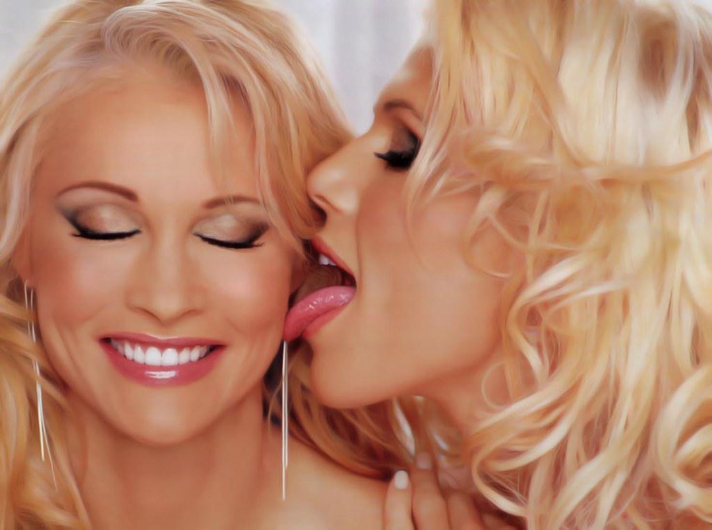 Sable kissing torrie wilson