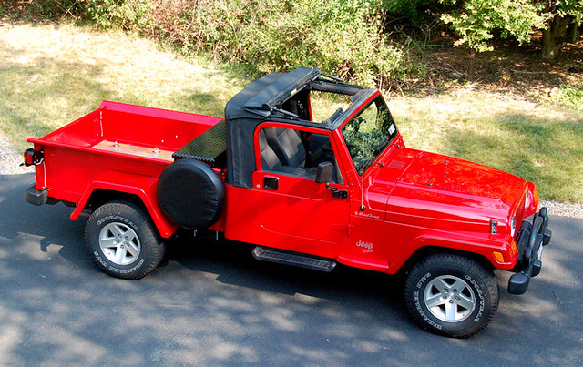 Jeep Retro Wrangler Tj With Softtop Custom Pickup