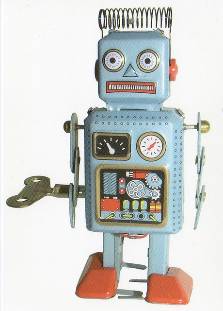 Vintage robot toy to Finland NL-112114