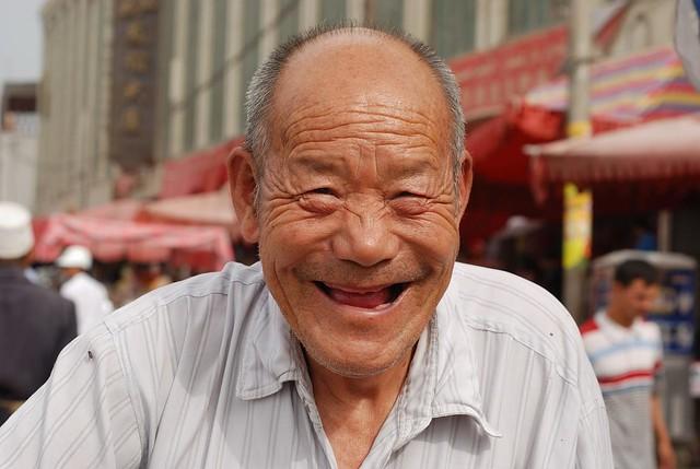 3022342454 7485e1cb29 z jpg zz 1Old Man Face Smiling