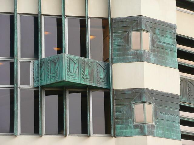 Bartlesville, OK Price Tower windows | Flickr - Photo Sharing!