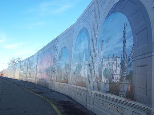 The Portsmouth, Ohio, Flood Wall Murals | Flickr - Photo ...