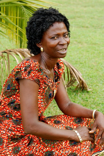 African woman in native wear   Flickr - Photo Sharing!