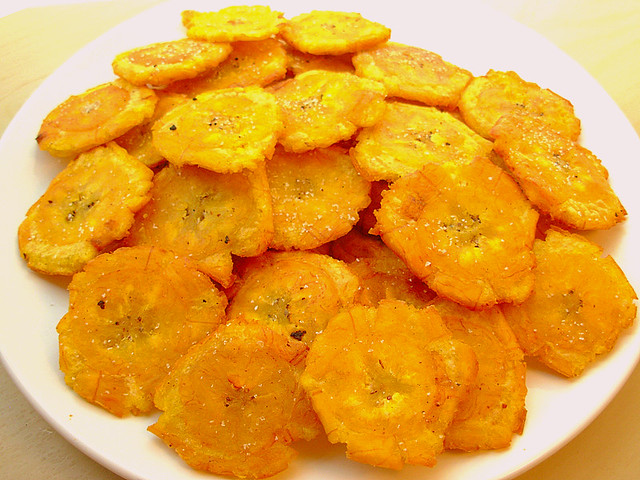 Tostones (Fried Green Plantains) | Flickr - Photo Sharing!