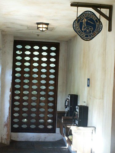 Tusker House Phones in hall near Restrooms