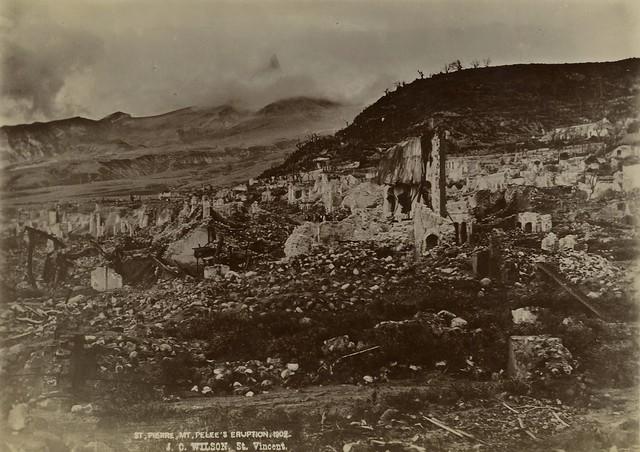 J. C. Wilson - Mt Pelee's Eruption, St Pierre, Martinique ... - photo#31