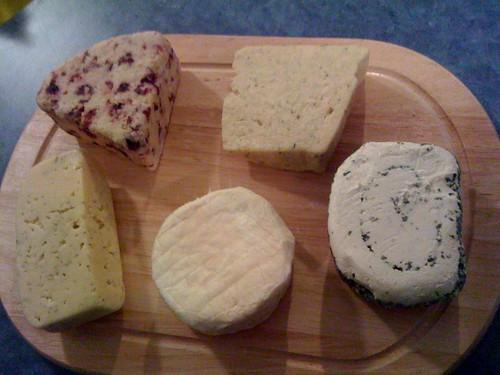Mmmmm cheese platter