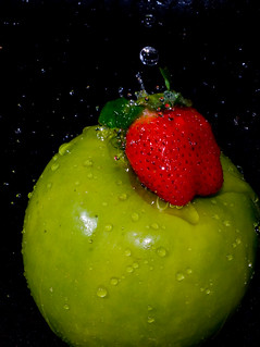 Wet fruit