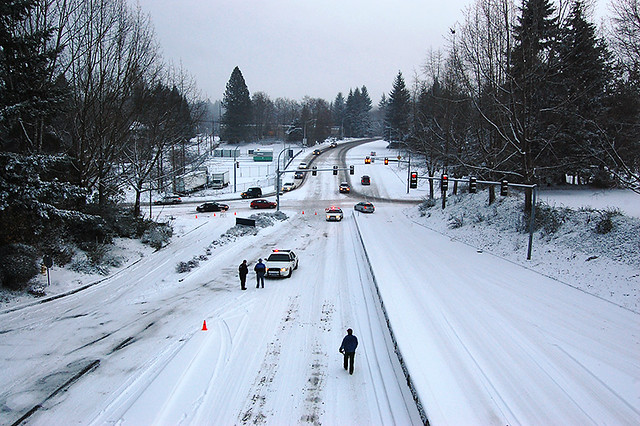 Wa Dept Of Health >> Snow in Olympia - State Patrol closing roads | Flickr - Photo Sharing!