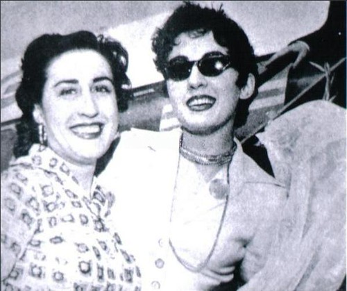 Cidália and Rosária Meireles, 1959