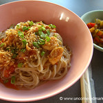 Burmese Food, Spicy Noodles - Rangoon, Burma (Yangon, Myanmar)